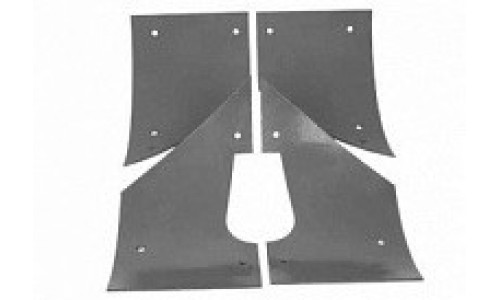 Защитная пластина с центральным выходом (большой)