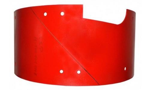 Защитная пластина с центральным выходом