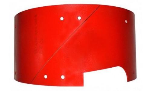 Защитная пластина с центральным выходом 6 мм