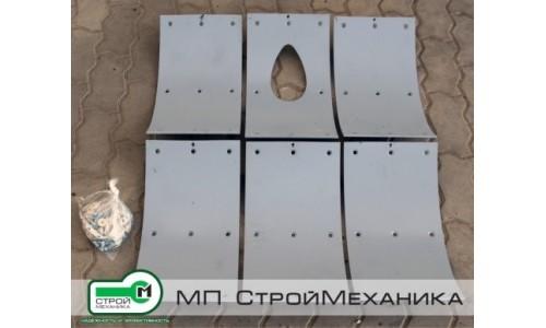 Комплект брони для смесителя-пневмонагнетателя серии ТОПОЛЬ