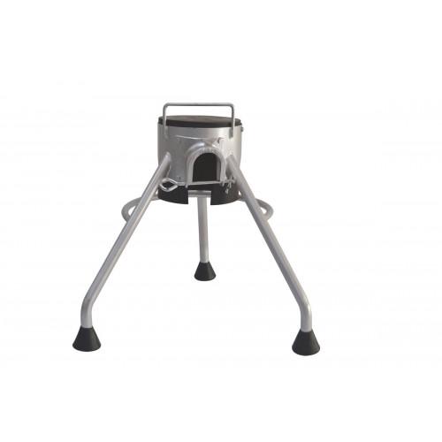 Гаситель с выходом d-60/65 (алюминий) Tripod 60/65 Aluminum