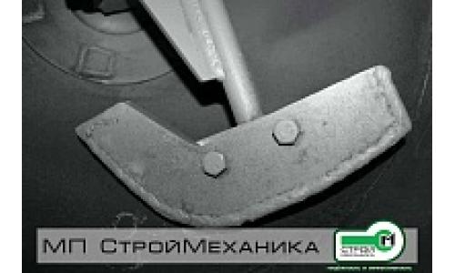 Комплект смесительных лопаток на смеситель-пневмонагнетатель серии ТОПОЛЬ (производство до 05.2014 г.)