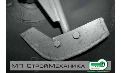 Комплект смесительных лопаток на смеситель-пневмонагнетатель серии ТОПОЛЬ