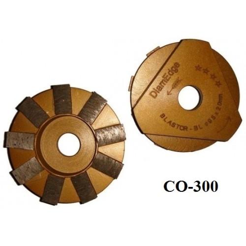 Алмазная фреза с экономичной связкой СО-300